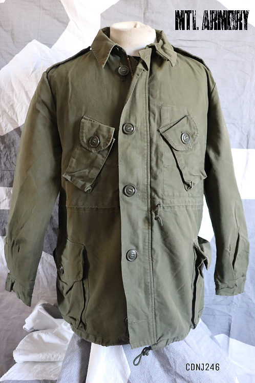 CANADIAN OD 3 SEASON JACKET SIZE LARGE-REGULAR WITH LINER