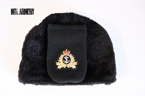 ROYAL CANADIAN NAVY PARKTOWN WINTER HAT SIZE 7 1/8