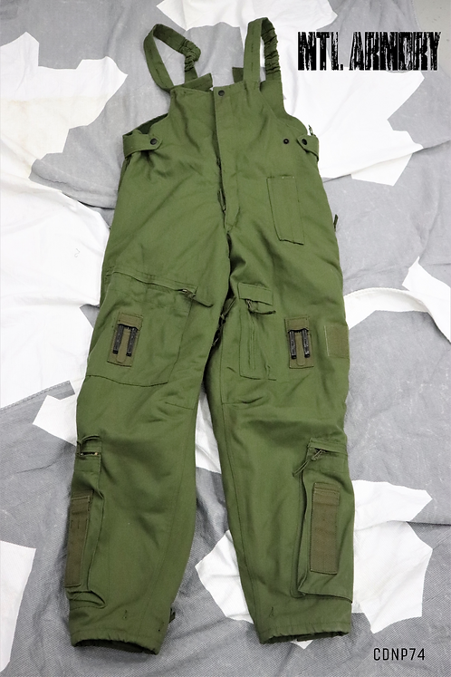 CANADIAN OD COLD WEATHER FLYERS PANTS SIZE 7038