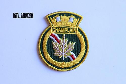 CANADIAN FORCES NAVAL HMCS PATCH
