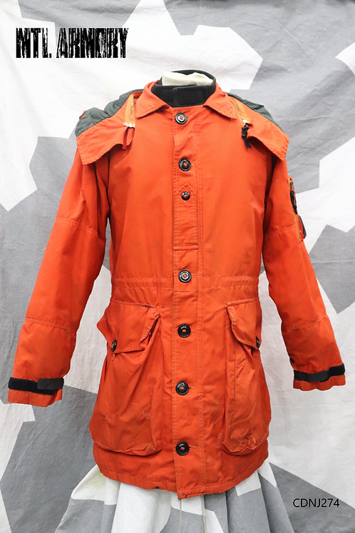 RARE CANADIAN FORCES SAR TECH PARKA SIZE MEDIUM-REGULAR SEARCH AND RESCUE