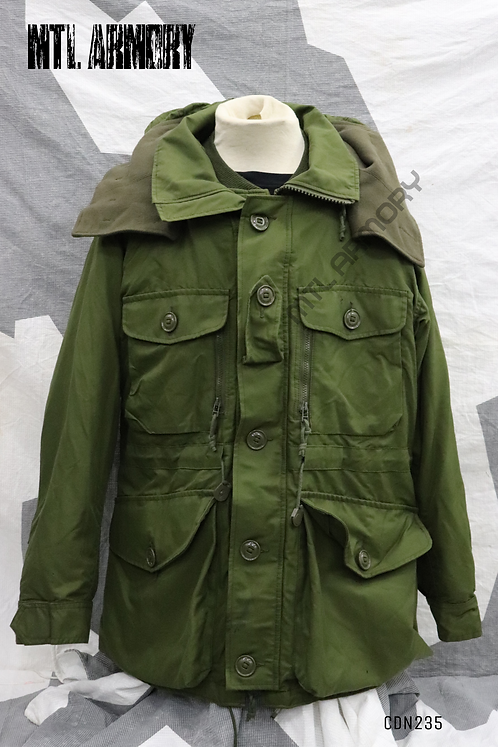 CANADIAN ISSUED OD GORE-TEX EXTREME COLD WEATHER PARKA  SIZE 6740