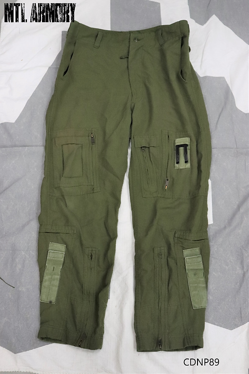 RCAF OD FLYERS HELICOPTER TACTICAL PANTS SIZE 7336
