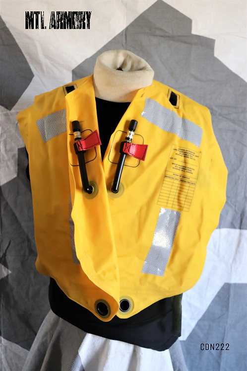 RCAF AIRCREW MUSTANG LIFE PRESERVER