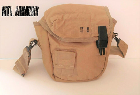 US TAN 2 QUARTS CANTEEN CARRIER WITH SHOULDER STRAP