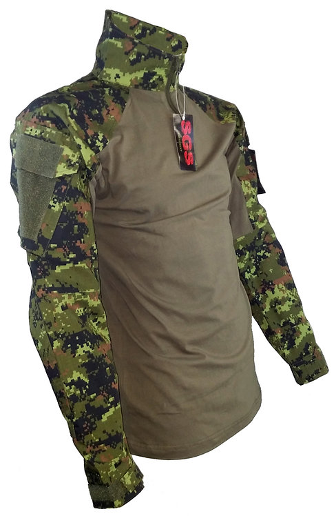 CANADIAN STYLE DIGITAL CAMO TACTICAL SWEATER