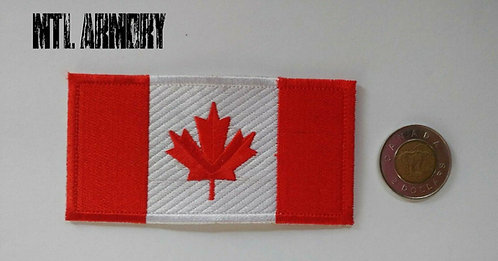 CANADIAN RED FLAG PATCH