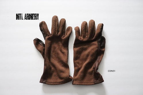 ROYAL CANADIAN AIR FORCE FLYER'S GLOVES SIZE LARGE