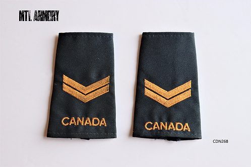 ROYAL CANADIAN NAVY LEADING SEAMAN EPAULETTES
