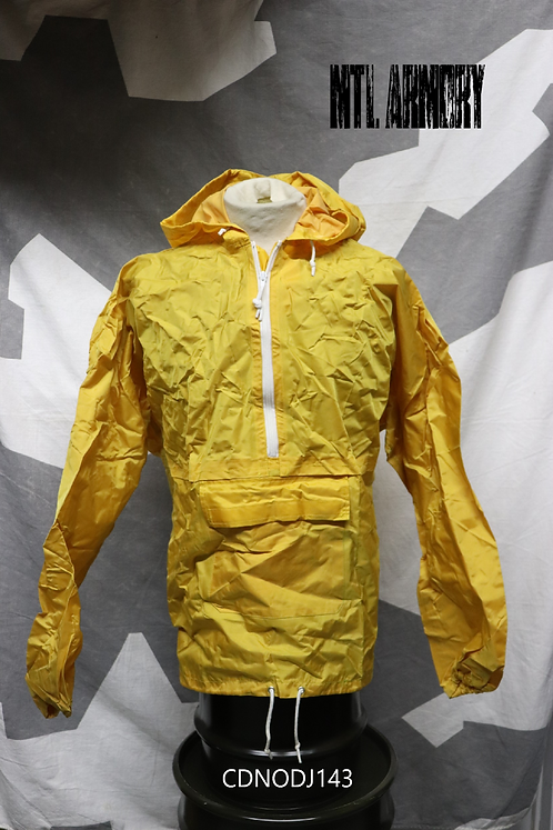 CANADIAN ISSUED YELLOW RAIN JACKET