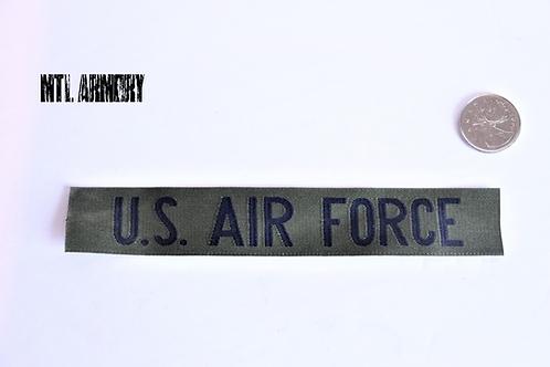 USAF OD U.S. AIR FORCE SEW ON TAB PATCH