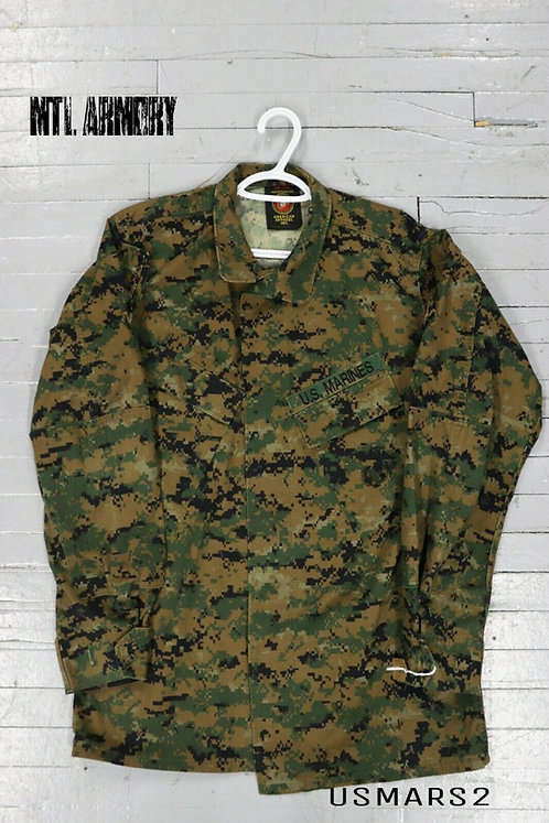 US ISSUED MARPAT COMBAT SHIRT SIZE SMALL-LONG