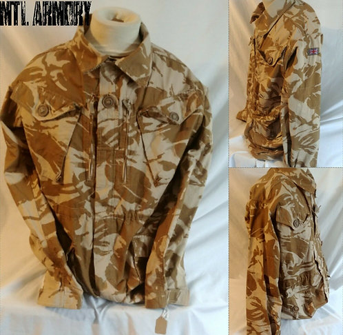 BRITISH ISSUED DPM DESERT CAMO JACKET SIZE 180/104