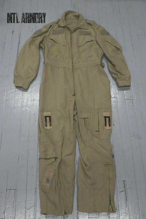 RCAF ISSUED TAN FLYERS COVERALLS SIZE 7040