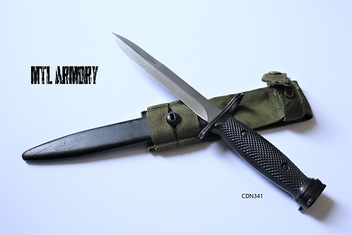 CANADIAN FORCES C7 BAYONET WITH SHEATH AND CARRIER