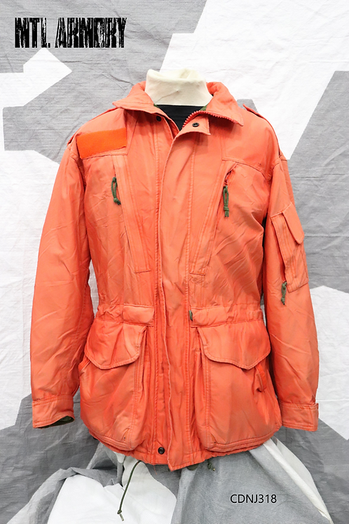 RARE CANADIAN FORCES SARTEC ORANGE GORE-TEX JACKET SIZE 7040