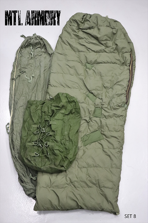 CANADIAN FORCES 3 PCS COLD WEATHER SLEEPING BAG SYSTEM