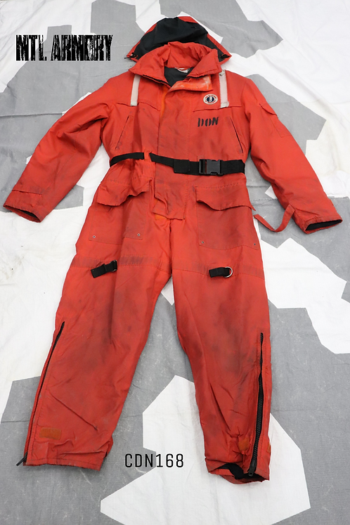 CANADIAN COAST GUARD MUSTANG SURVIVAL ANTI EXPOSURE SUIT SIZE SMALL