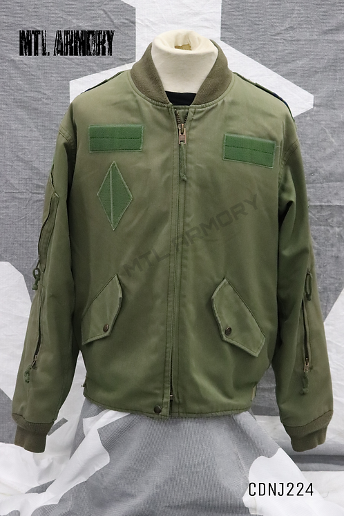 RCAF OD FLYERS JACKET SIZE 7340 ROYAL CANADIAN AIR FORCES