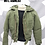 Thumbnail: CANADIAN FORCES OD AFV JACKET SIZE SMALL-LONG