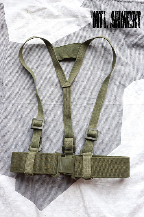 CANADIAN FORCES ISSUED 64 PATTERN WEBBING