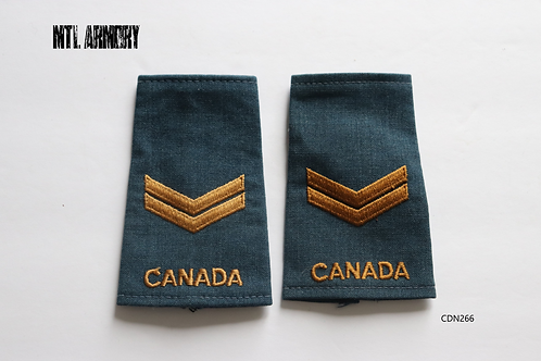 ROYAL CANADIAN AIR FORCE CORPORAL EPAULETTES