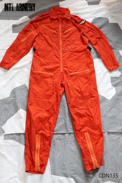 CANADIAN ISSUED SEARCH AND RESCUE COVERALLS SIZE XLARGE-TALL