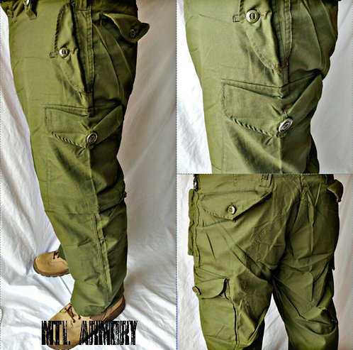 CANADIAN FORCES ISSUED OD COMBAT PANTS