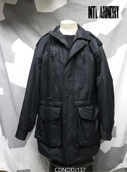 CANADIAN NAVY ISSUED BLACK GORE-TEX JACKET SIZE 7644