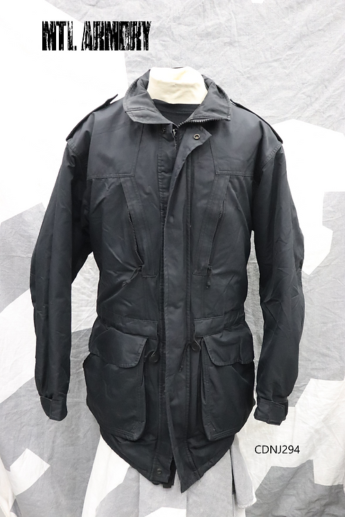 ROYAL CANADIAN NAVY BLACK GORE-TEX JACKET SIZE 7644