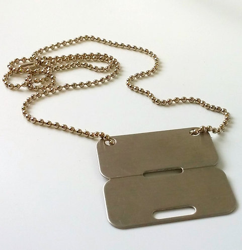 CANADIAN NEW DOG TAG