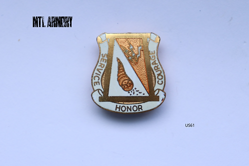 US MILITARY SERVICE HONOR COURAGE PIN