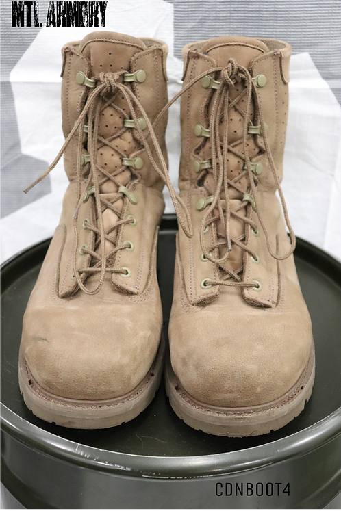 CANADIAN ISSUED HOT WEATHER COMBAT BOOTS SIZE 275/112