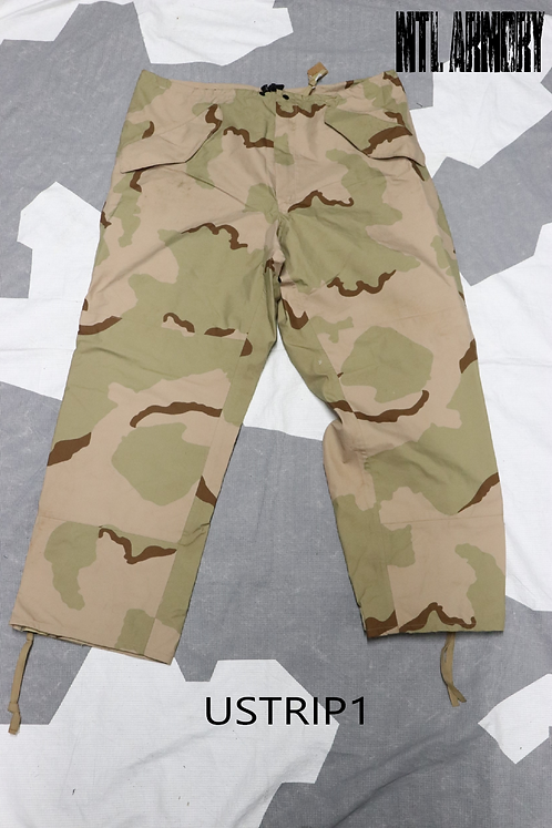 US ISSUED TRI COLOR DESERT GORE-TEX PANTS SIZE LARGE-REDULAR