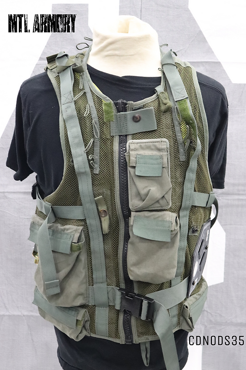 CANADIAN ISSUED HELICOPTER SURVIVAL VEST SIZE LARGE