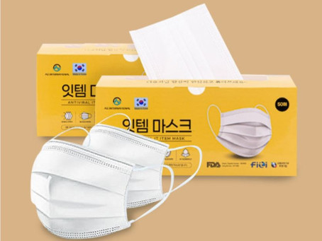 The Best Medical Disposable 3-ply Masks For Children & Adults - Made in South Korea