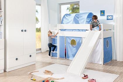 Royal Dreams - Kinderzimmer Spiel  und  Hochbett