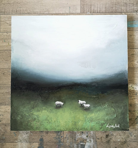'In green pastures'