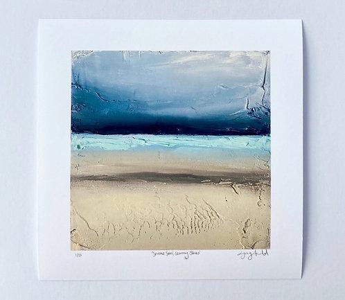 'Serene Seas,Stormy Skies'