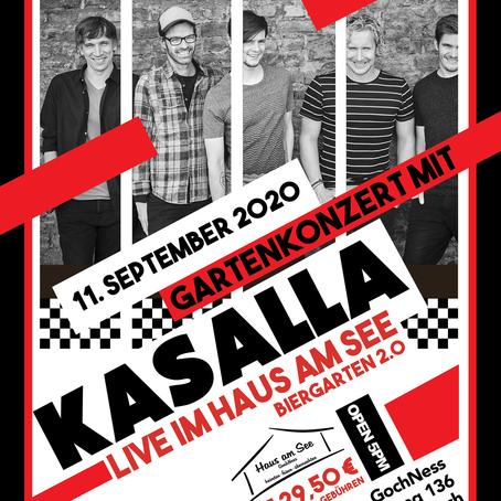 Gartenkonzert mit Kasalla - Live im Haus am See - GochNess | 11.09.2020