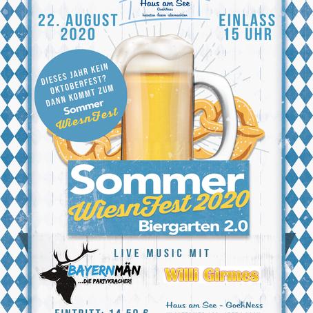 SommerWiesnFest 2020 Biergarten 2.0 | 22.08.2020