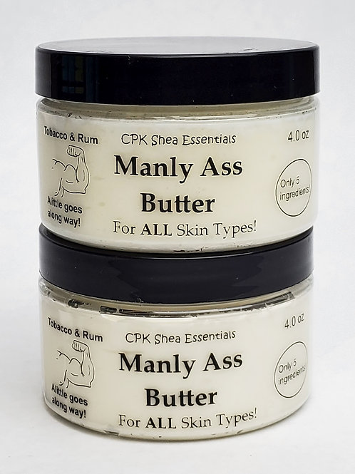 Manly Ass Butters  4 oz