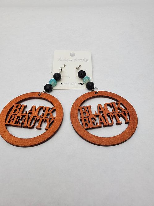 Black Beauty Earrings