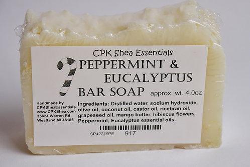 Peppermint & Eucalyptus Soap 4 oz
