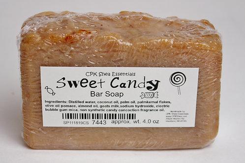Sweet Candy Bar Soap 4 oz