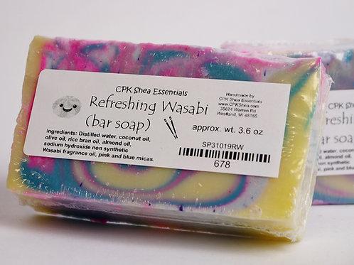 Vibrant Wasabi Soap 3.6 oz