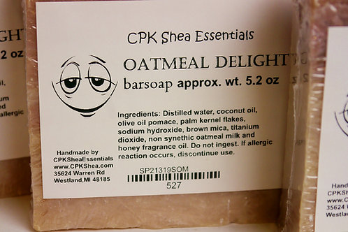 Oatmeal Delight Soap 5.2 oz