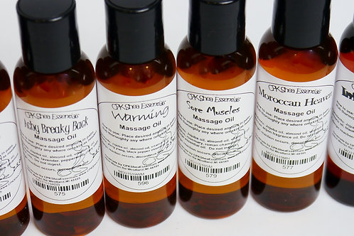 Natural Massage Oil 2.5 oz