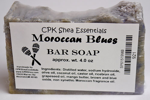 Moroccan Blues Soap 4 oz