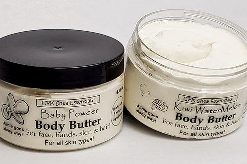 Body Butters  4 oz